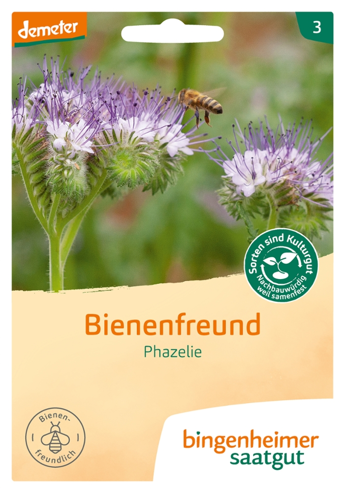 Saatgut Bienenfreund Phazelie -B-