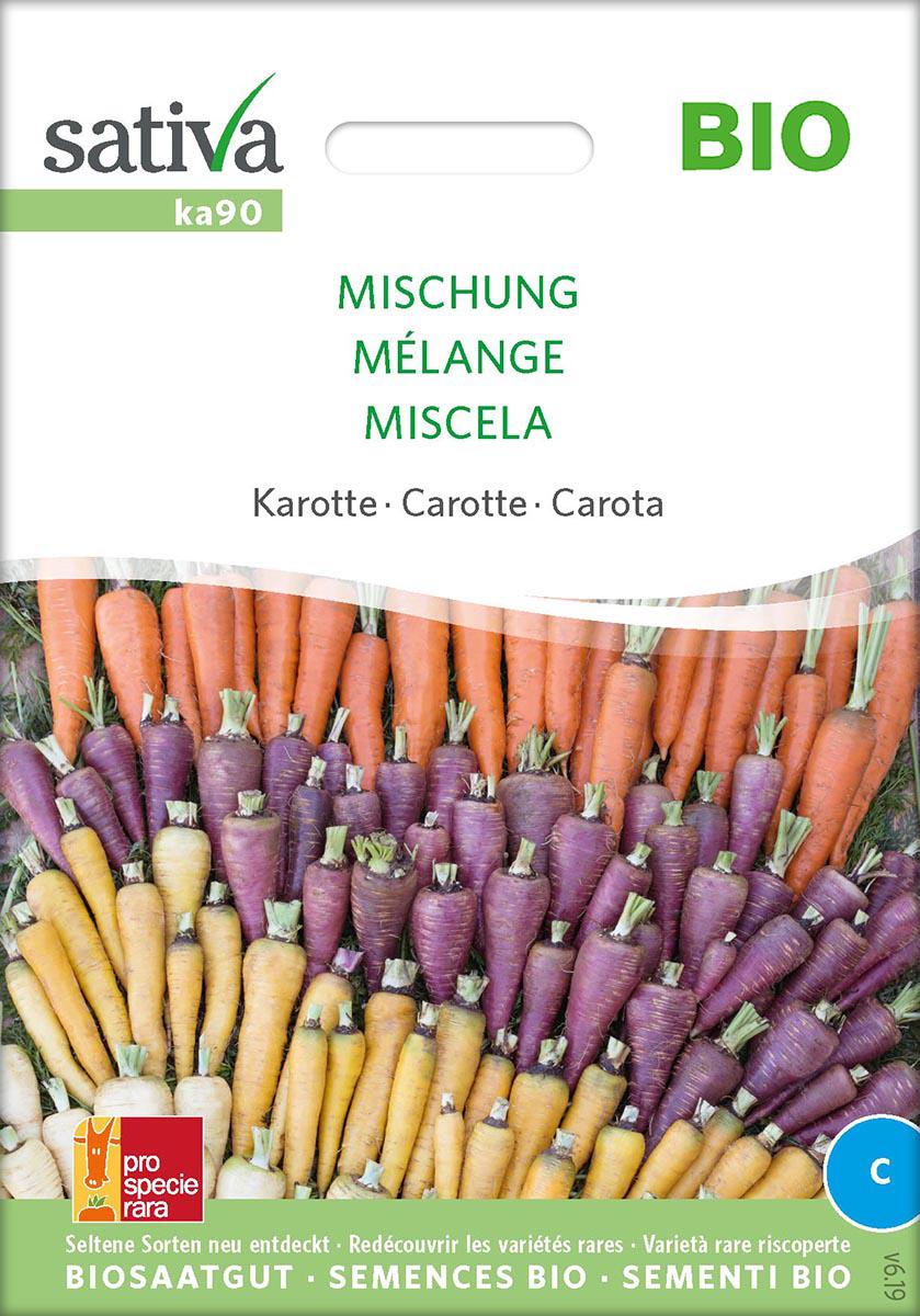 Saatgut Karotten-Mischung -S-