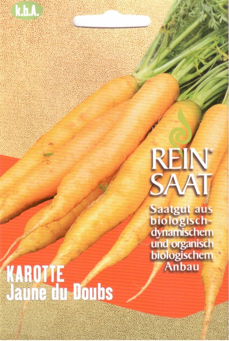 Saatgut Gelbe Möhre -R-
