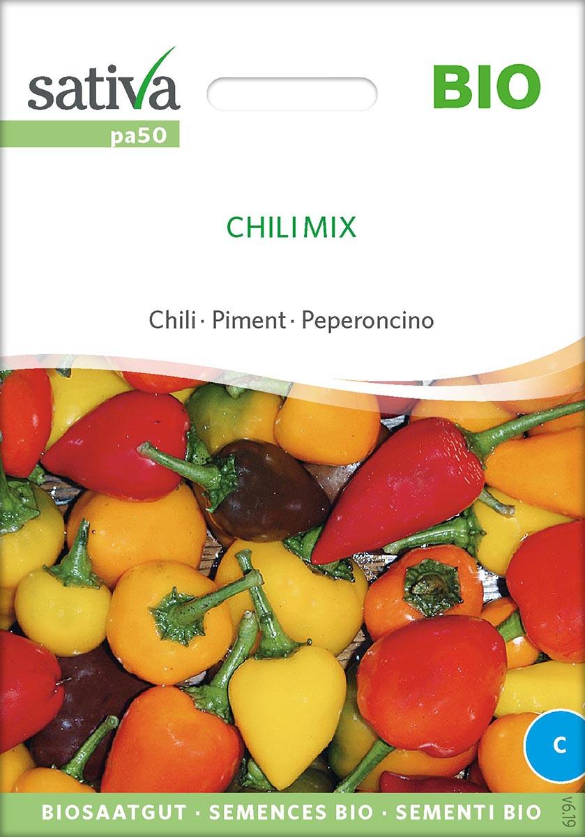 Saatgut Chili Mix -S-
