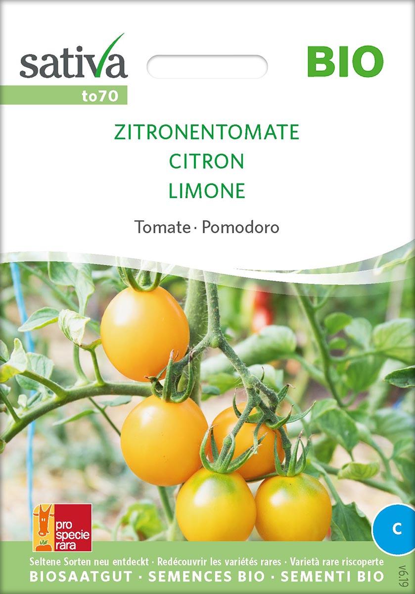 Tomatensaatgut Zitronentomate -S-