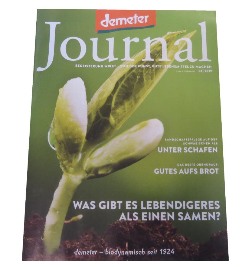 Demeter Journal 01 2019