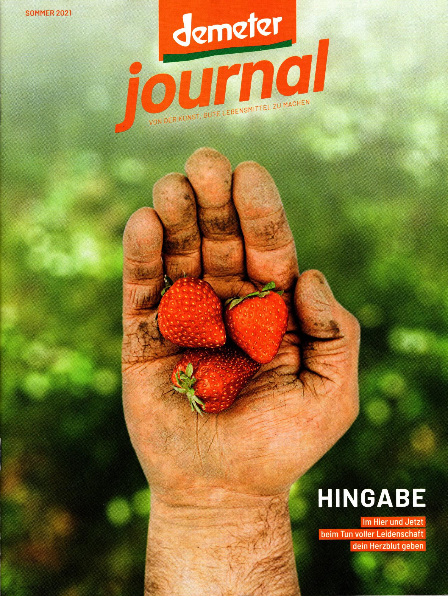 Demeter Journal Sommer 2021