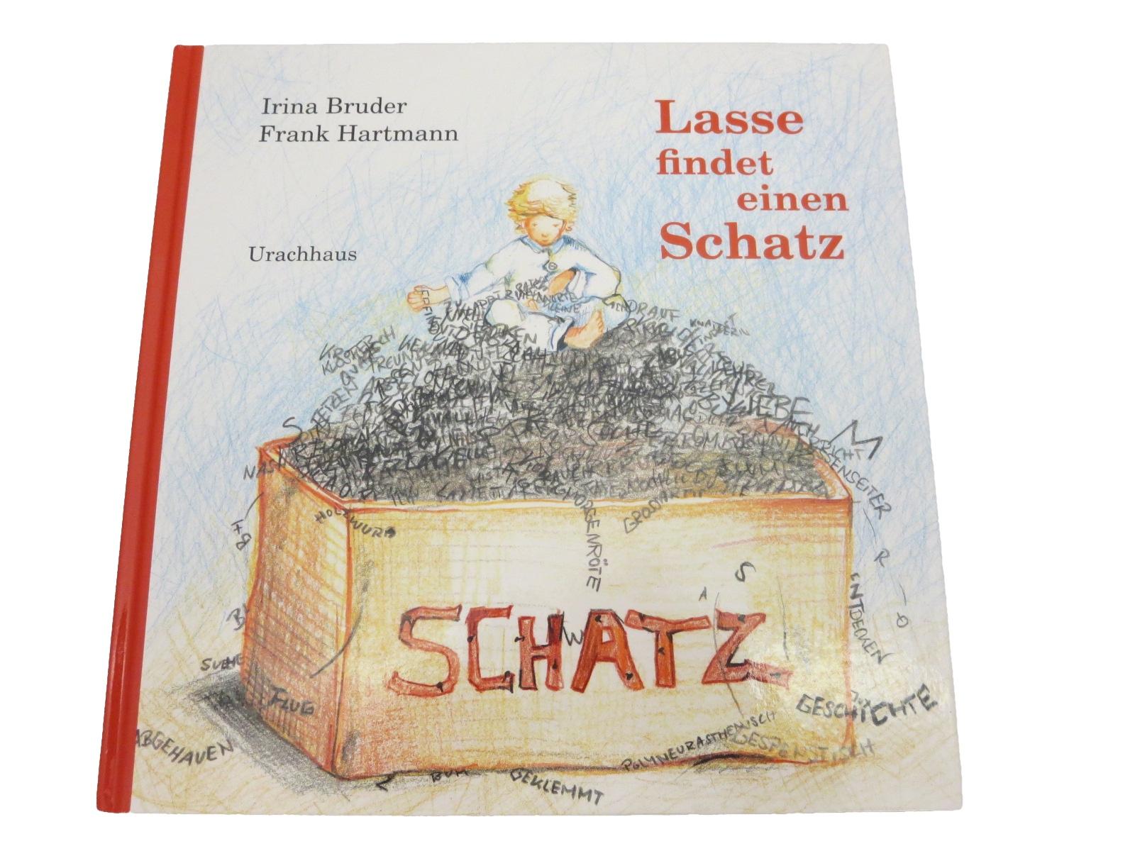Kinderbuch, Bilderbuch Lasse findet einen Schatz