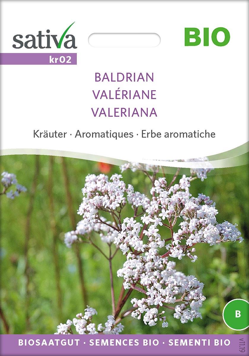 Saatgut Baldrian Valériane -S-