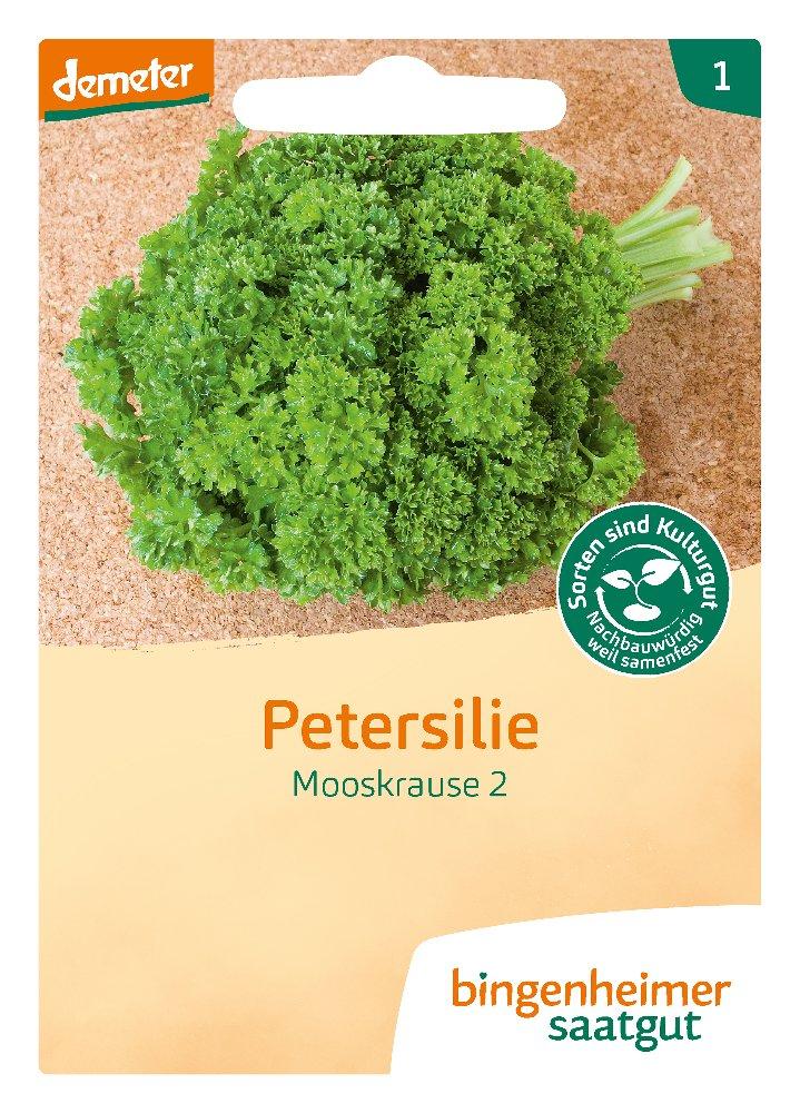 Saatgut Petersilie Mooskrause -B-
