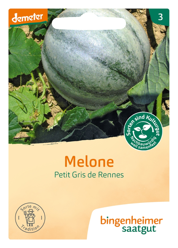 Saatgut Petit Gris de Renn-Melone -B-