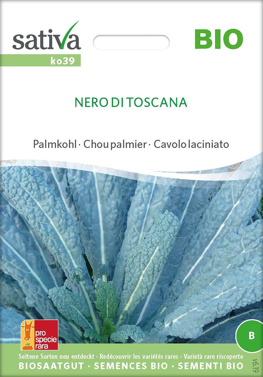 Saatgut Palmkohl Nero di Toscana -S-