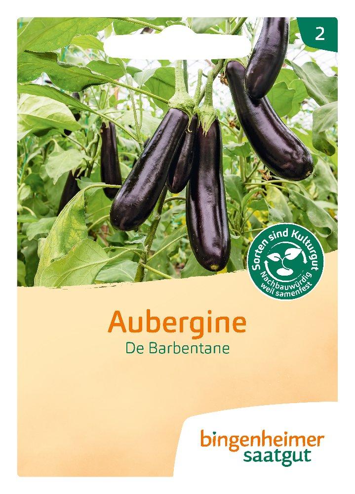 Saatgut Aubergine De Barbentane -B-