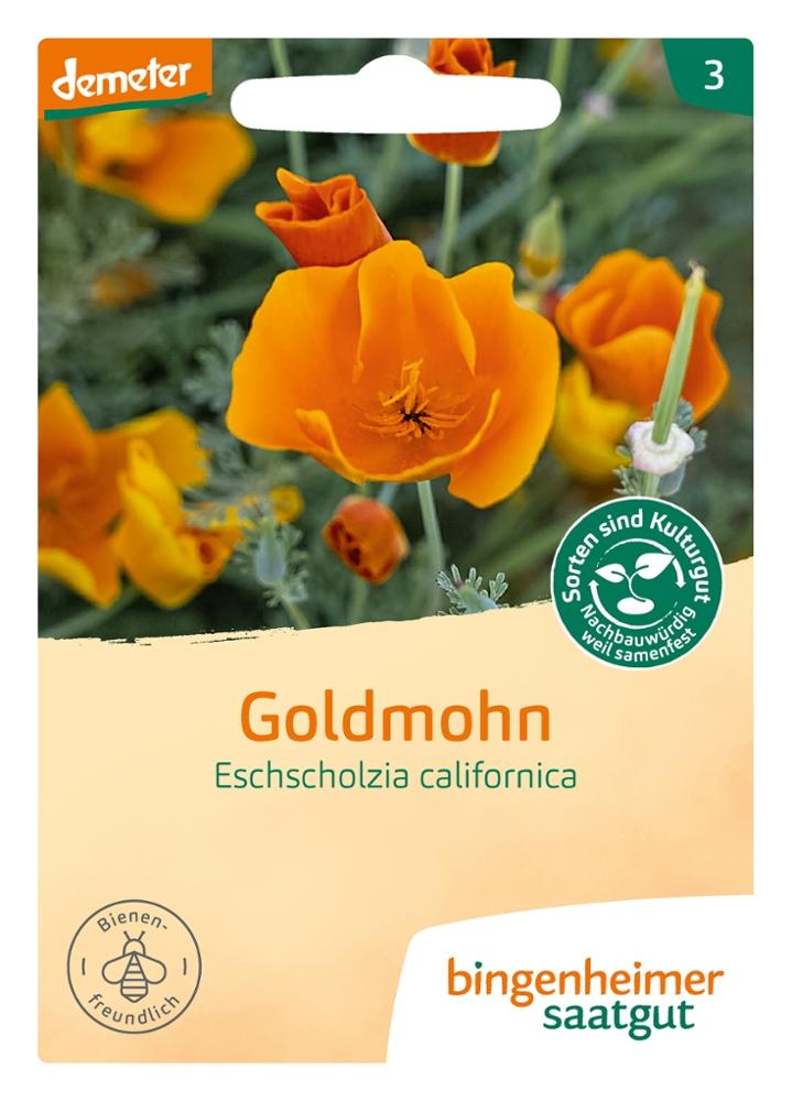 Saatgut Goldmohn -B-