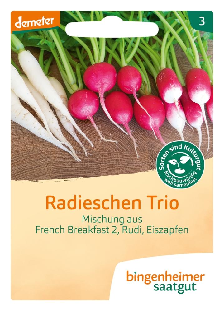 Saatgut Radieschen Trio -B-