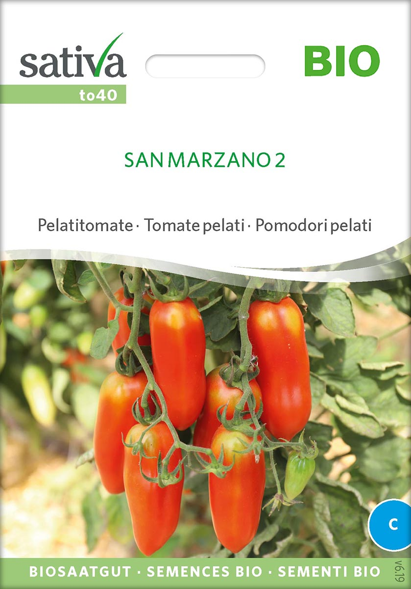 Tomatensaatgut San Marzano 2 -S-