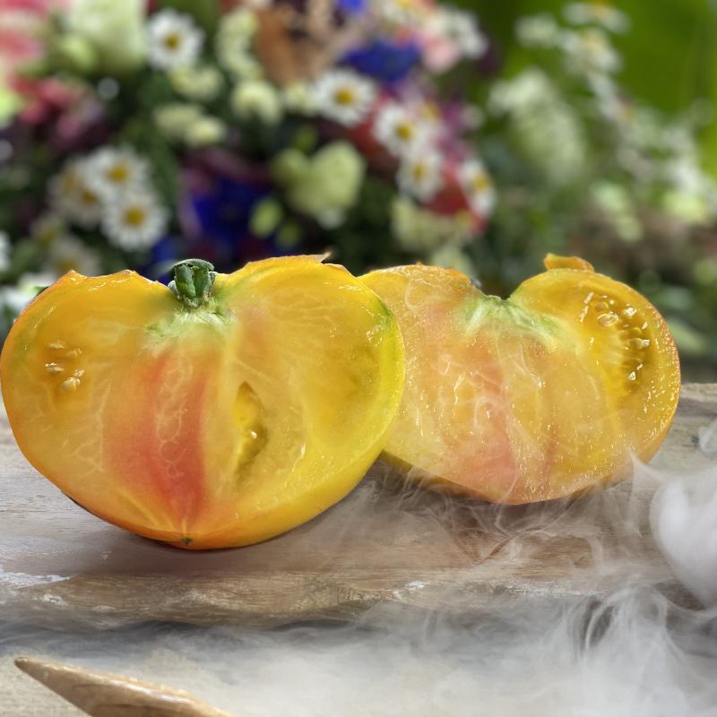 Gelbe und Orange Tomatenrarität