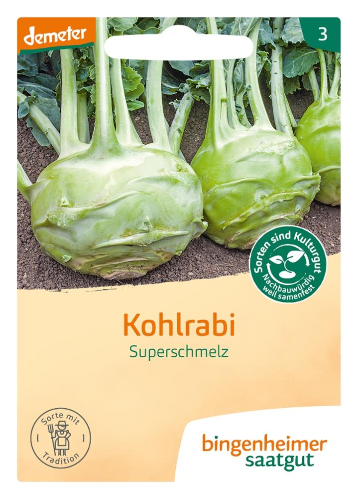 Saatgut Kohlrabi Superschmelz -B-
