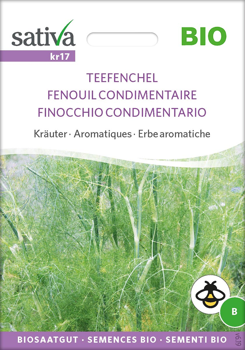 Saatgut Teefenchel -S-