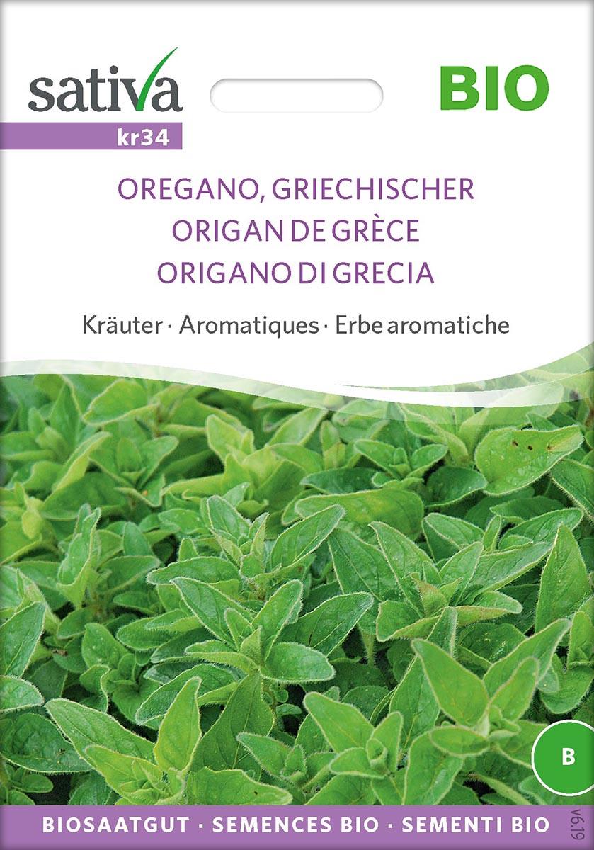 Saatgut Oregano, Griechischer -S-