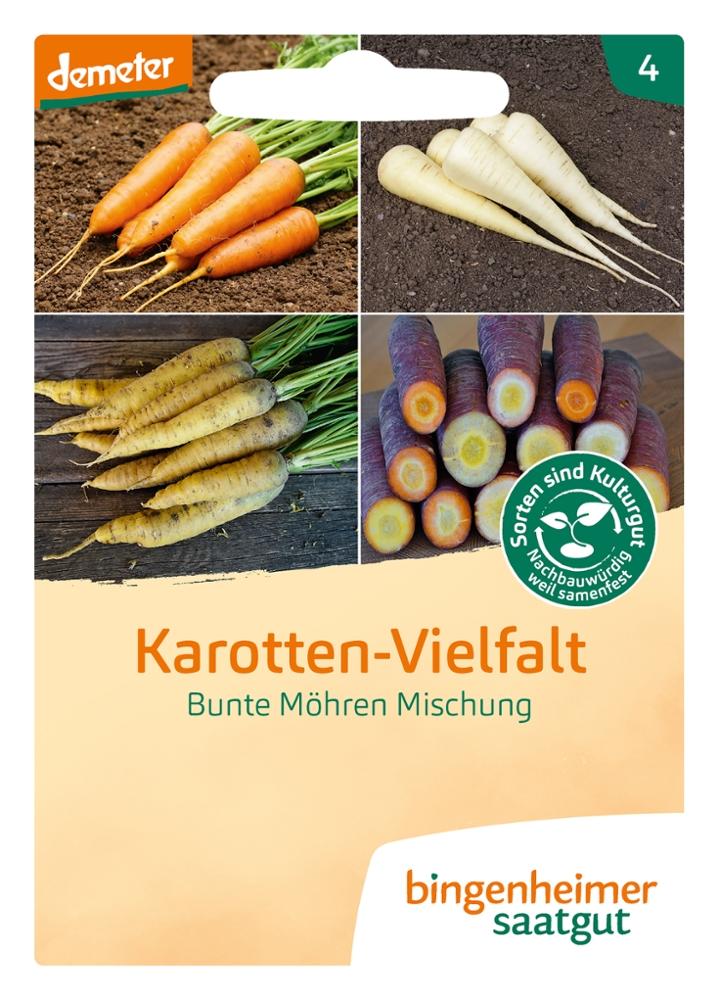 Saatgut Karotten Vielfalt -B-