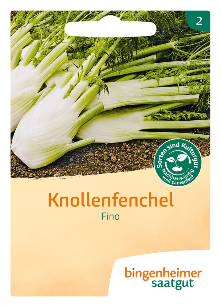 Saatgut Knollenfenchel Fino -B-