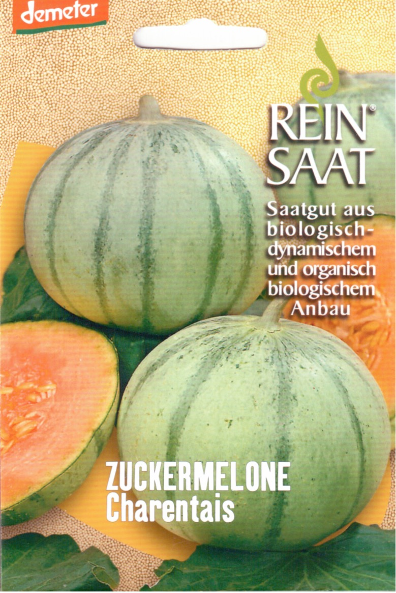 Saatgut Honigmelone Charentais -R-