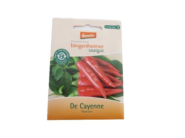 Saatgut Pepperoni De Cayenne -B-
