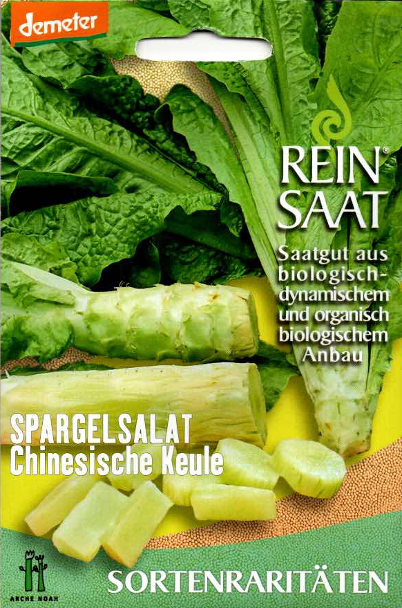 Saatgut Spargelsalat Chinesische Keule -R-