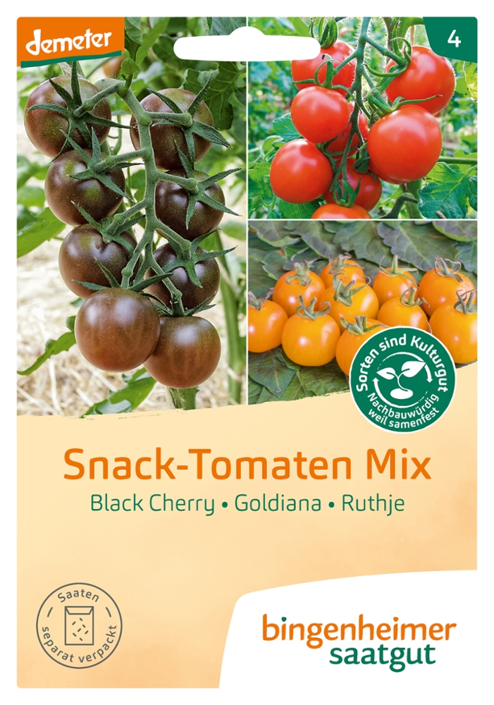 Tomatensaatgut Snack Tomaten Mix -B-