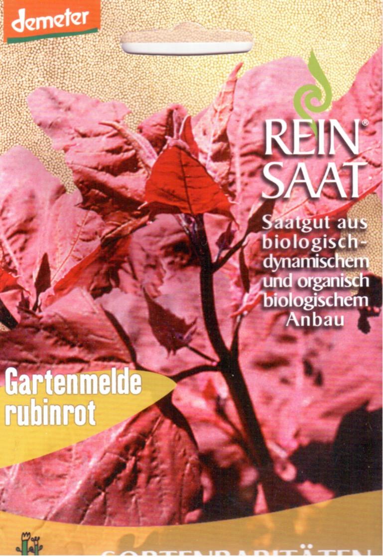 Saatgut Gartenmelde Rubinrot -R-
