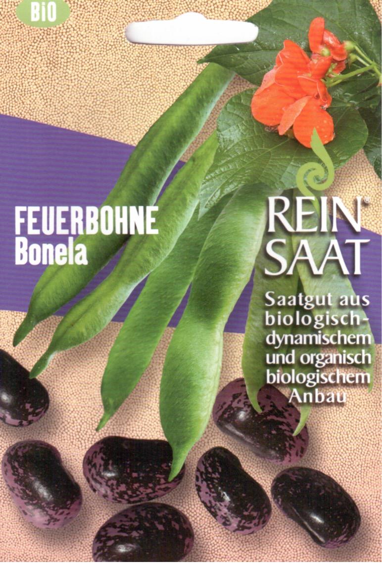Saatgut Feuerbohne Bonela -R-
