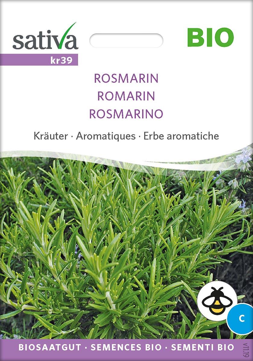 Saatgut Rosmarin -S-
