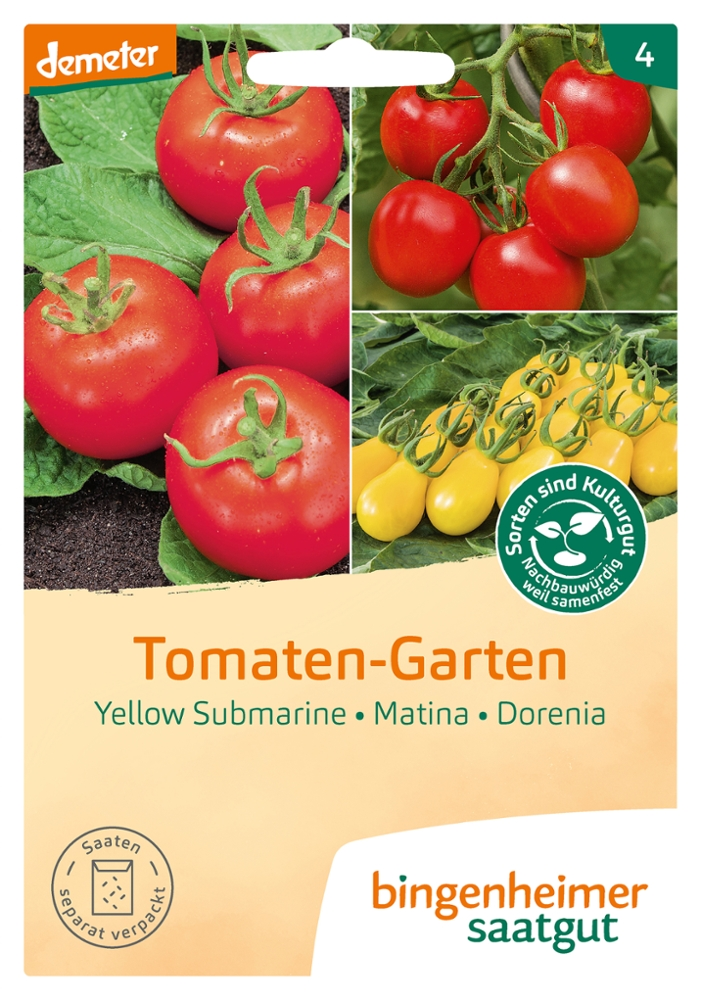Tomatensaatgut Tomaten-Garten -B-