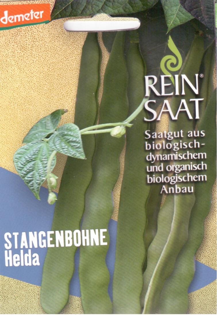 Saatgut Stangenbohne Helda -R-